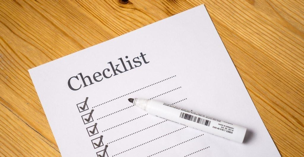 The last part of your event planning checklist is to confirm that everything is on track.