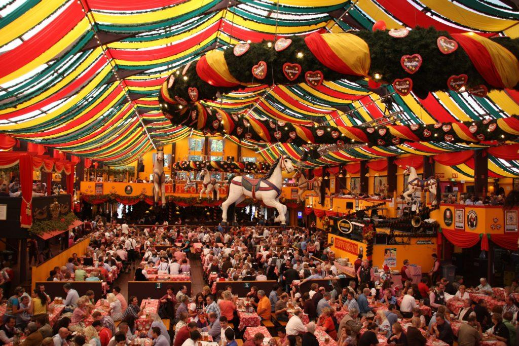 Oktoberfest Event Ideas: What it looks like on the inside.