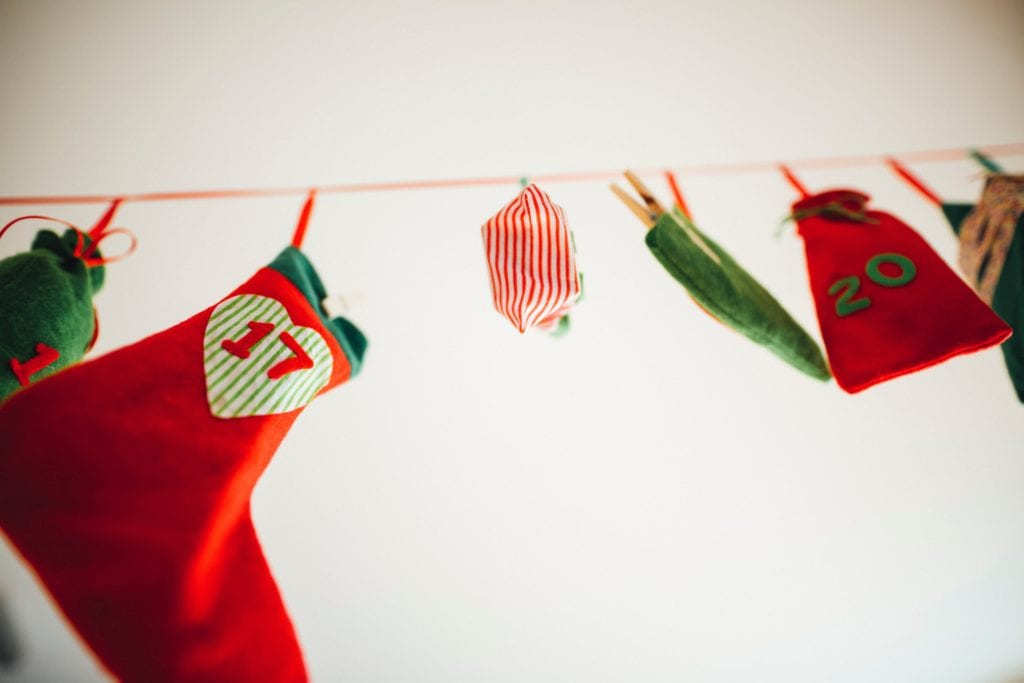 Christmas Party Ideas: Stocking guessing games are great for family and charity events.