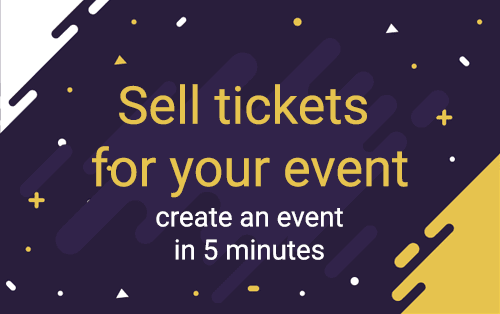 Sell tickets for your event