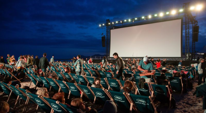 Outdoor cinema event